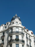 Hoek van Franse Villa Royalty-vrije Stock Foto's