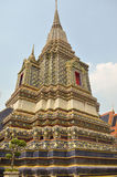 Hoek van Pagode in Wat Pho Stock Fotografie