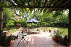 Hoek van tuin Royalty-vrije Stock Afbeelding
