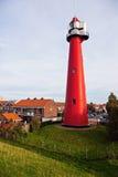 Hoekbestelwagen Holland Lighthouse Royalty-vrije Stock Foto