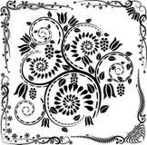 Hoeken en ornamenten Royalty-vrije Stock Afbeeldingen