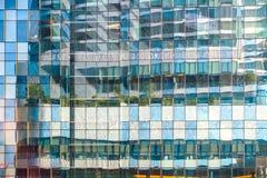Hoekig beeld van de stad stock afbeelding