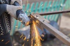 Hoekmolen Sparks Old Metal Stock Fotografie