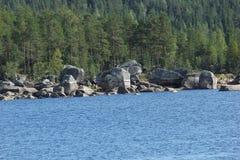 Hoeljessjoen In Sweden Royalty Free Stock Image