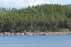 Hoeljessjoen In Sweden Stock Images