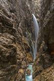Hoellental gorge. Near Grainau, Garmisch-Partenkirchen Royalty Free Stock Photos