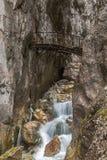 Hoellental gorge. Near Grainau, Garmisch-Partenkirchen Stock Photo