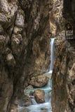 Hoellental gorge. Near Grainau, Garmisch-Partenkirchen Royalty Free Stock Images