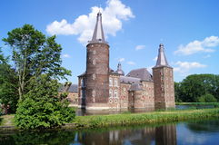 Hoensbroek Castle Stock Photo