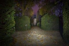 Hoexter, Alemania - 30 de octubre de 2016: Abadía imperial de Corvey en Rin-Westfalia del norte Foto de archivo libre de regalías