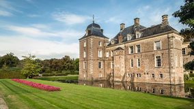Hof搬运车Twente,荷兰- 2016年10月, 07日:城堡Weldam 免版税图库摄影