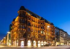 汉堡包Hof在汉堡,德国 免版税库存照片