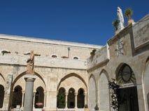 Hof in Bethlehem Stockfotografie