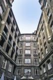Hof in Budapest Lizenzfreie Stockfotos