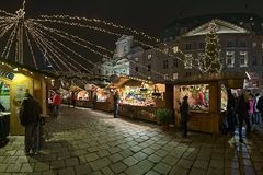 Am Hof Christmas market in Vienna, Austria Royalty Free Stock Photography