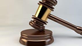 Hof de Rechtvaardigheid Law Lawyer van de Hamerrechter Stock Afbeeldingen