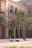 Hof des Emirat-Palastes Stockfoto