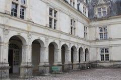 Hof des herrschaftlichen Anwesens lizenzfreie stockbilder