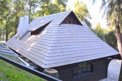 Hof des Kleieschlosses, Haus von Dracula, Brasov, Siebenbürgen Stockfotografie