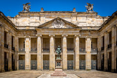 Hof des kolumbianischen Kapitols und des Kongresses, Bogota - Kolumbien Lizenzfreies Stockbild