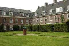 Hof des Museums von John Amos Comenius in Naarden Stockfotos