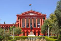 Hof die Bengaluru, staat van Karnataka, India bouwen stock foto's