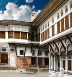 Hof eines Harems des Sultans Lizenzfreie Stockfotos