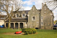 Hof Huis Athy Kildare ierland royalty-vrije stock afbeeldingen
