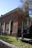 Hof Huis, Main Street, Smithfield, VA Stock Afbeelding
