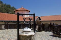 Hof in Kykkos-Kloster Stockfotografie