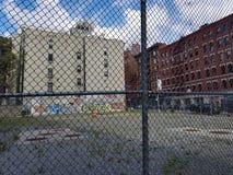 Hof in New York royalty-vrije stock foto's