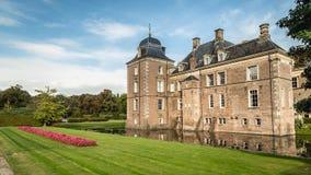 Hof-Packwagen Twente, die Niederlande - Oktober, 07, 2016: Schloss Weldam Lizenzfreie Stockfotografie