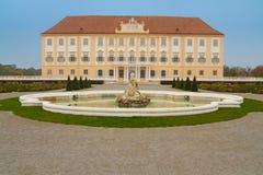 Hof Palast in Österreich Lizenzfreie Stockbilder