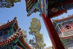 Hof, Peking-Moschee Lizenzfreie Stockbilder