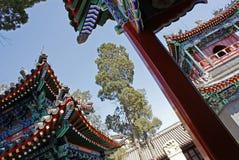 Hof, Peking-Moschee Stockbild