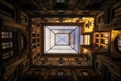 Hof in Rom stockbild