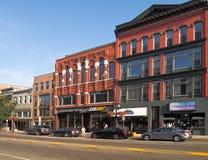Hof Straat in Binghamton, NY Stock Fotografie
