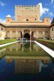 Hof van de Mirte in Granada Royalty-vrije Stock Foto