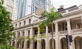 Hof van Definitief Beroep in Hong Kong China stock afbeeldingen