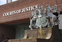 Hof van Justitie Royalty-vrije Stock Foto's