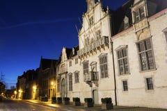 Hof van Savoye in Malines nel Belgio Immagini Stock