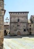 Hof von Santillana Del Mar stockfotos