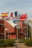 Hof am zentralen College in Pella, Iowa Stockfotografie