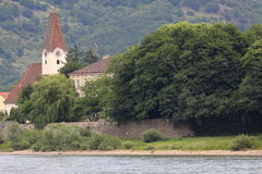 Hofarnsdorf church in Wachau Royalty Free Stock Photos
