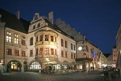 Hofbraeuhaus в Мюнхене, Баварии Стоковое фото RF