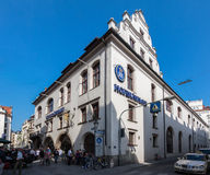 Hofbrauhaus Building Munich Germany Stock Photography