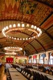 Hofbrauhaus: location of Hitlers first speech. Hofbrauhaus was the beer hall where Hitler gave his first speech Stock Photos