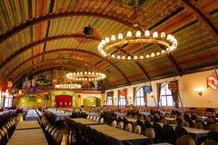 Hofbrauhaus: location of Hitlers first speech. Hofbrauhaus was the beer hall where Hitler gave his first speech Royalty Free Stock Photo