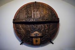 Hofbrauhaus in München, Duitsland royalty-vrije stock foto's