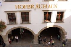 Hofbrauhaus - Munchen Royalty Free Stock Image